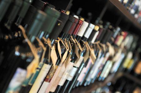 5288458 - bottle of wine in shop